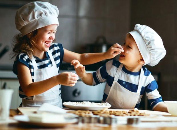 Receita nutritiva para a criançada